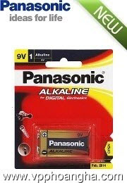 Pin Panasonic 6LR61T/1B -9V